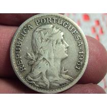 Moneda Portugal 50 Centavos De Escudo 1951 Ref (a 102)