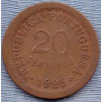 Portugal 20 Centavos 1925 * Republica * Libertad *