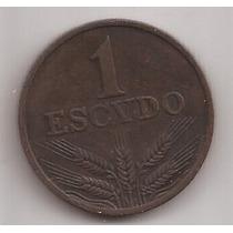 Portugal Moneda De 1 Escudo Año 1979 !!