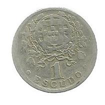 Portugal 1 Escudo 1927 Plata