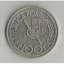 !!! Portugal 100 Escudos 1987 Diogocao 1486 Sin Circular !!!