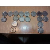 18 Monedas Coleccion De 20 Centavos De 1951 Al59