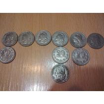 10 Monedas Coleccion De 20 Centavos De 1922 Al 52