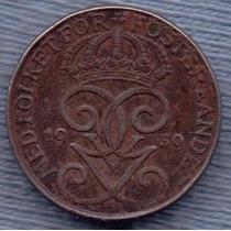 Suecia 1 Ore 1950 * Gustaf V *
