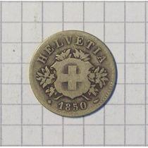 Suecia 20 Rappen 1850 1er Año Alto Valor De Catalogo
