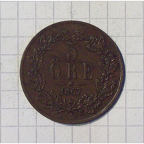 Suecia 5 Ore 1867 Km-707
