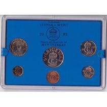 Suecia 5,10,25,50 Ore Y 1,5 Kronor 1983 * Mint *