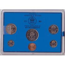 Suecia 5,10,25,50 Ore Y 1,5 Kronor 1980 * Mint *