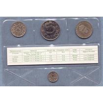 Suecia 10, 50 Ore Y 1, 5 Kronor 1985 * Mint * Sin Circular *