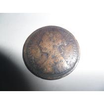 1/2 Half Penny 1886 Moneda Gran Bretaña