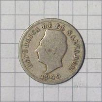 El Salvador 5 Centavos 1940 Mejor Año De La Serie