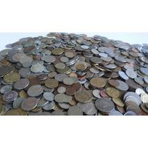 Lote De 1/2 Kilo De Monedas Extranjeras + Regalos