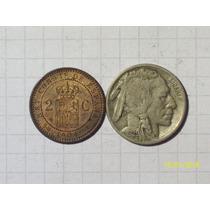 Colección 2 Monedas Antiguas