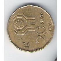 Moneda 20 Pesos Mundial 78 Argentina