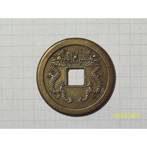 Moneda China De La Suerte 7,5 Gr 35 Mm