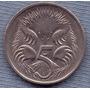 Australia 5 Cents 1999 * Oso Hormiguero * Echidna *