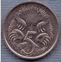 Australia 5 Cents 1994 * Oso Hormiguero * Echidna *