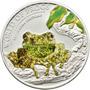 Palau - Moneda 2 Dólares 2011 - Rana Verde - Plata Proof