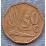 Sudafrica 50 Cents 1992 * Republica * Planta *