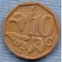 Sudafrica 10 Cent 1996 * Planta De Lirio *