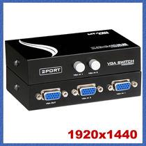 Switch Vga 2 Pc A 1 Monitor O 2 Monitores A 1pc . Oferta
