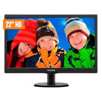 Monitor Led Philips 22 Pulgadas Full Hd Hdmi Vga Garantia