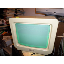 Monitor Vintage Retro Con Av Decoración Comercial 80s