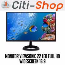 Monitor Viewsonic 22 Led Full Hd Widescreen 16:9 Gtia 3 Años
