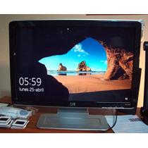 Monitor Hp W1907 Lcd 19 En S/caja Orig.exc.estado Y Funcion
