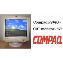 Monitor Compaq Fs740 17 Excelente Estado Funciona Ok