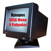 Monitor Dynapos 9 Pulgadas Svga Mono Nuevo En Caja Unico!