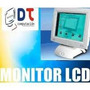 Monitor 12 Lcd Ideal Comercio. Camara Seguridad !!