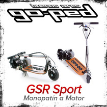 Monopatin Motor Goped Gsr Sport Plegable Nafta Scooter 29 Cc