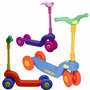 Vegui Monopatín Quickly Infantil 4 Ruedas Resistente Colores