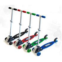 Monopatin - De 3 Ruedas Tri Wheel - Scooter Monopatin
