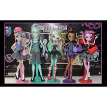 Monster High Dance Class Pack X 5 Muñecas Burns Bunny Toys