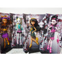 Monster High- Draculaura-cleo-clawdeen-lagoona-100% Original
