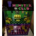 Monster High! Casa Club Completa, Tmb Para Barbies Y Otros!