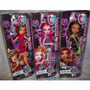 Muñecas Monster High Freaky Field Trip 3 Modelos