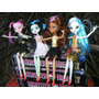 Muñecas Monster High. Pack X 4. 100% Articuladas. Env Gratis