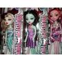 Monster High Muñecas De Muy Buena Calidad De 24 Cmts.