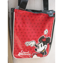 Bolso Morral De Mickey Original