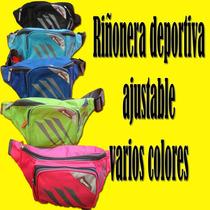 Riñonera Deportiva Ajustable Running Y Fitnnes