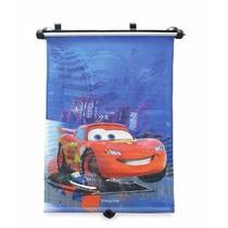 Cortinas Parasol Enrrollables P/ Auto Con Personajes Disney