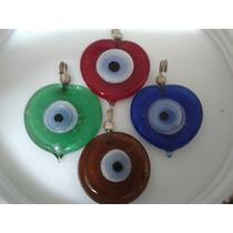 Dije Colores Ojos Vidrio Armar Bijouterie Accesorios 50 Unid