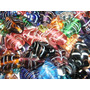 1/2 Kilo Mix Vidrio Colores Pez Armado Bijouterie/accesorios