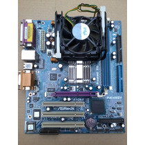 Combo Mother Asrock P4i45gv + Celeron 2.13ghz + Cooler Intel