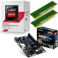 Combo Actualización Pc Amd Am1- Athlon 5150 + Gigabyte + 4gb