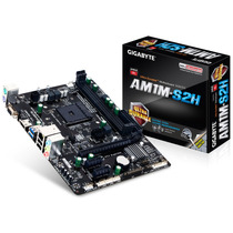 Placa Madre Gigabyte Am1 Am1m-s2h M-atx Box