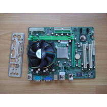 Mother Biostar P4m900-m7 Fe Versión 7.0 + Micro Celeron 440